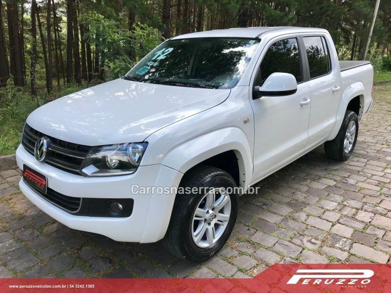 amarok 2.0 trendline 4x4 cd 16v turbo intercooler diesel 4p manual 2012 nova prata