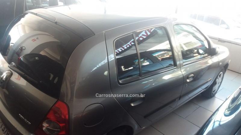 CLIO 1.0 AUTHENTIQUE 8V GASOLINA 4P MANUAL - 2008 - CAXIAS DO SUL