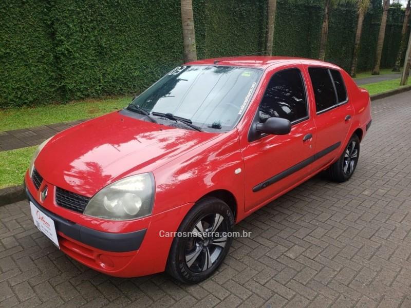 clio 1.0 authentique 16v gasolina 4p manual 2003 caxias do sul