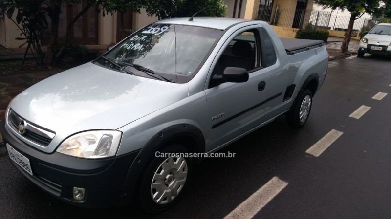 montana 1.4 mpfi conquest cs 8v flex 2p manual 2009 nova prata
