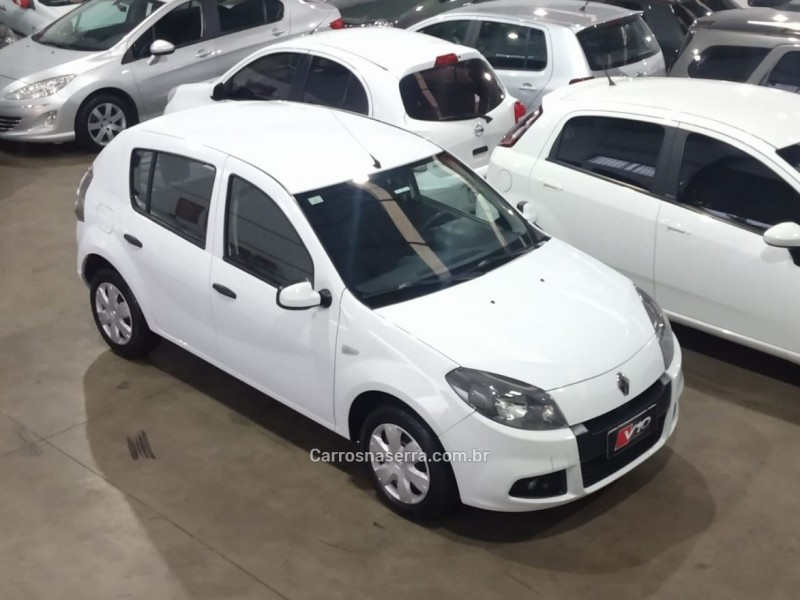 sandero 1.6 expression 8v flex 4p manual 2014 caxias do sul