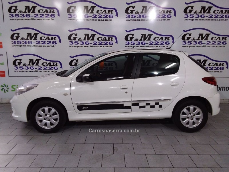 207 1.6 xs 16v flex 4p manual 2012 sao sebastiao do cai