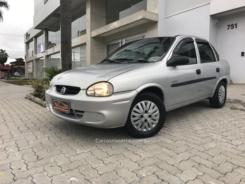 corsa 1.0 mpfi classic sedan life 8v flex 4p manual 2005 caxias do sul