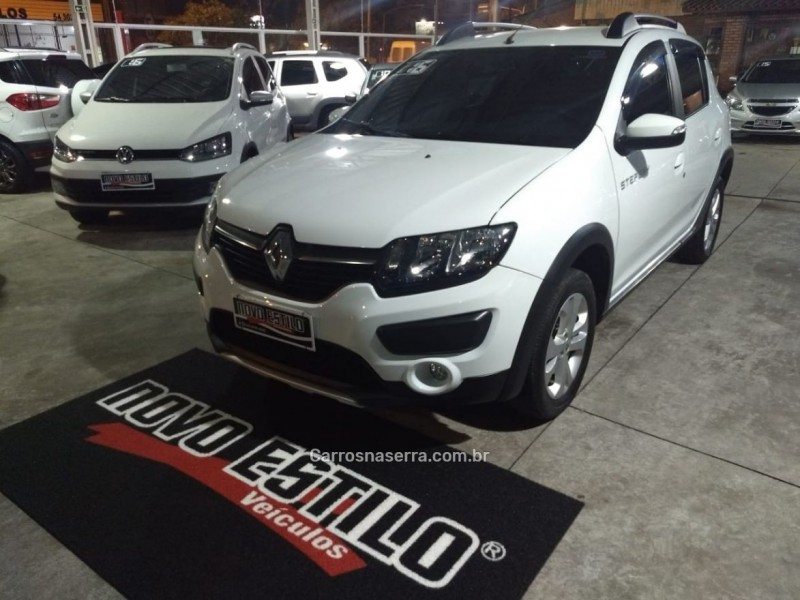 sandero 1.6 stepway 8v flex 4p manual 2016 caxias do sul