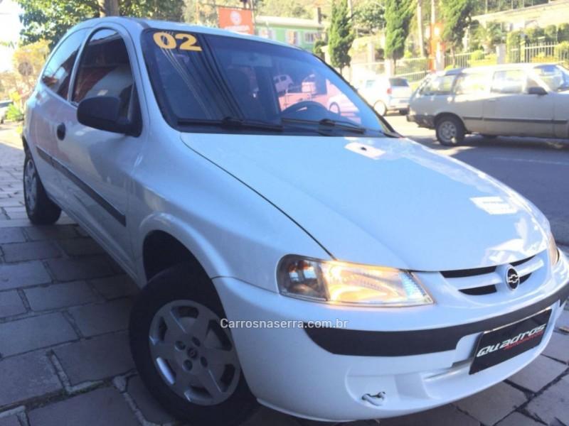 celta 1.0 mpfi super 8v gasolina 2p manual 2002 caxias do sul