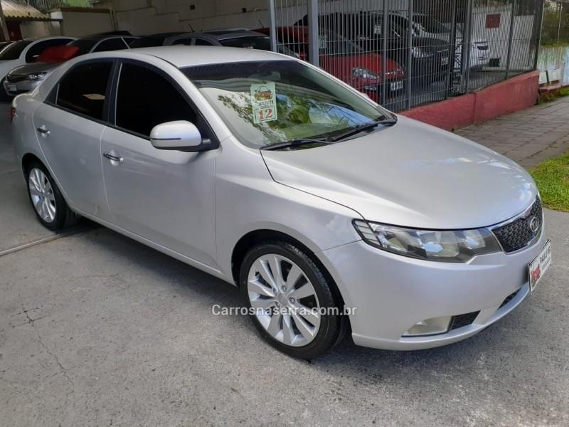 cerato 1.6 ex3 sedan 16v gasolina 4p automatico 2012 caxias do sul