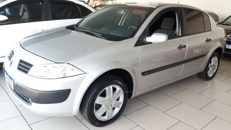 megane 1.6 expression 16v flex 4p manual 2009 caxias do sul
