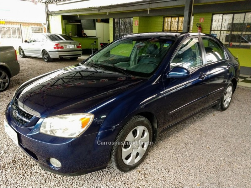 cerato 1.6 sedan 16v gasolina 4p manual 2006 caxias do sul