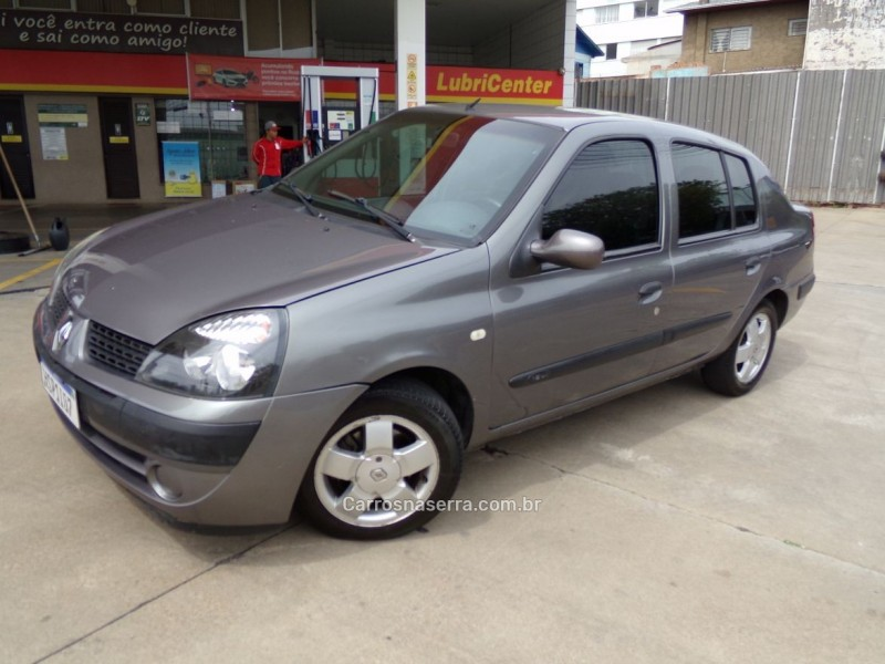 clio 1.6 expression sedan 16v flex 4p manual 2006 caxias do sul