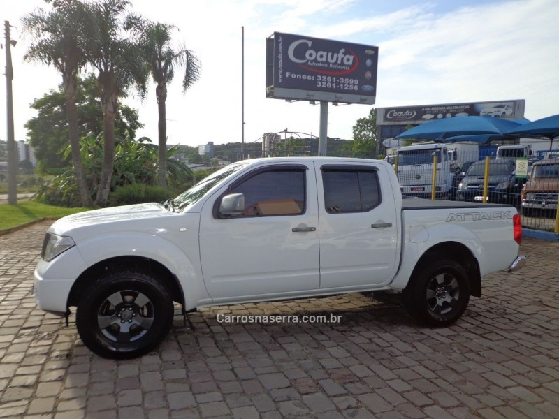 frontier 2.8 xe attack 4x4 cd turbo eletronic diesel 4p manual 2012 farroupilha