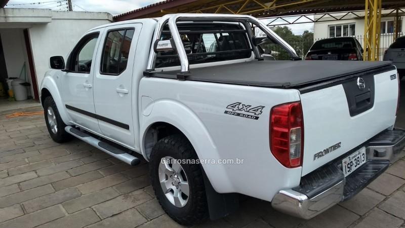 frontier 2.5 xe 4x4 cd turbo eletronic diesel 4p manual 2012 veranopolis