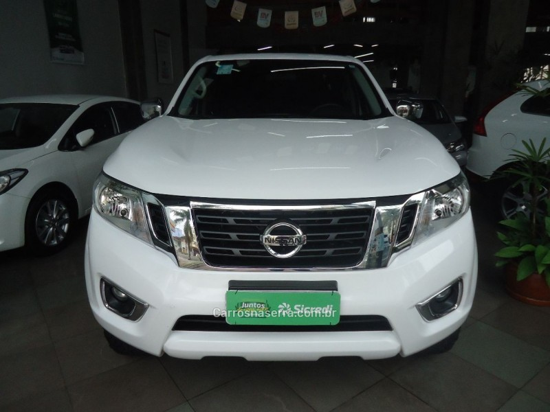 frontier 2.5 se 4x4 cd turbo eletronic diesel 4p automatico 2018 caxias do sul