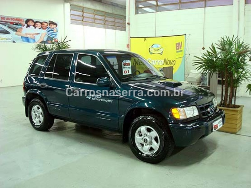 sportage 2.0 dlx 4x4 turbo intercooler diesel 4p manual 2001 caxias do sul