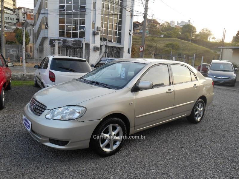 corolla 1.8 xei 16v gasolina 4p automatico 2003 caxias do sul