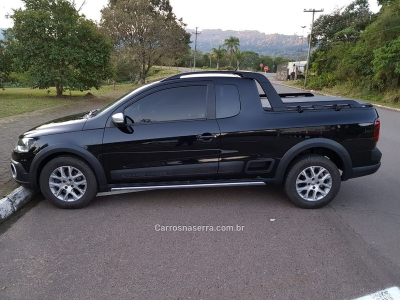 saveiro 1.6 cross ce 8v flex 2p manual 2015 feliz