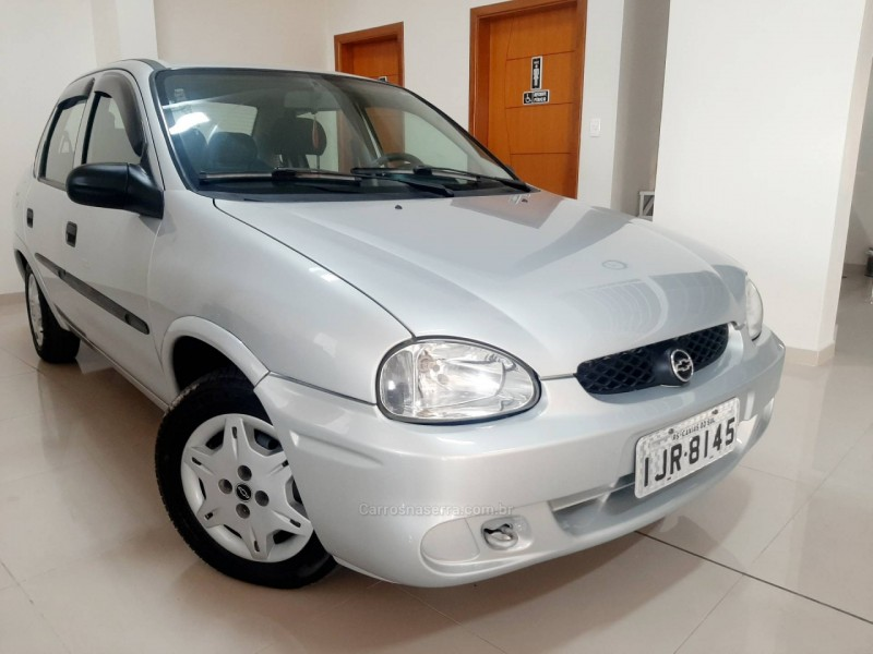corsa 1.0 mpfi classic sedan life 8v flex 4p manual 2001 caxias do sul