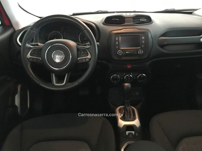 RENEGADE 1.8 16V FLEX LONGITUDE 4P AUTOMÁTICO - 2016 - BENTO GONçALVES