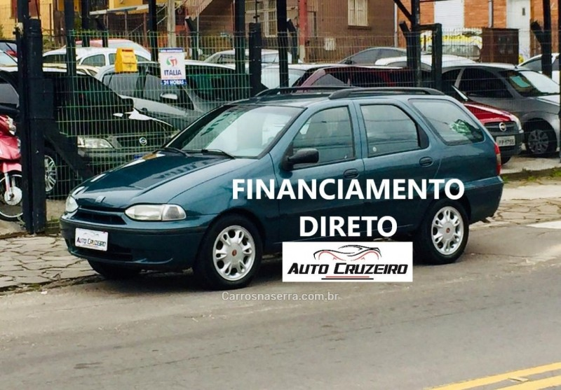 palio 1.5 mpi weekend 8v gasolina 4p manual 1999 caxias do sul