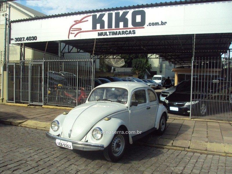 fusca 1.3 8v gasolina 2p manual 1985 caxias do sul