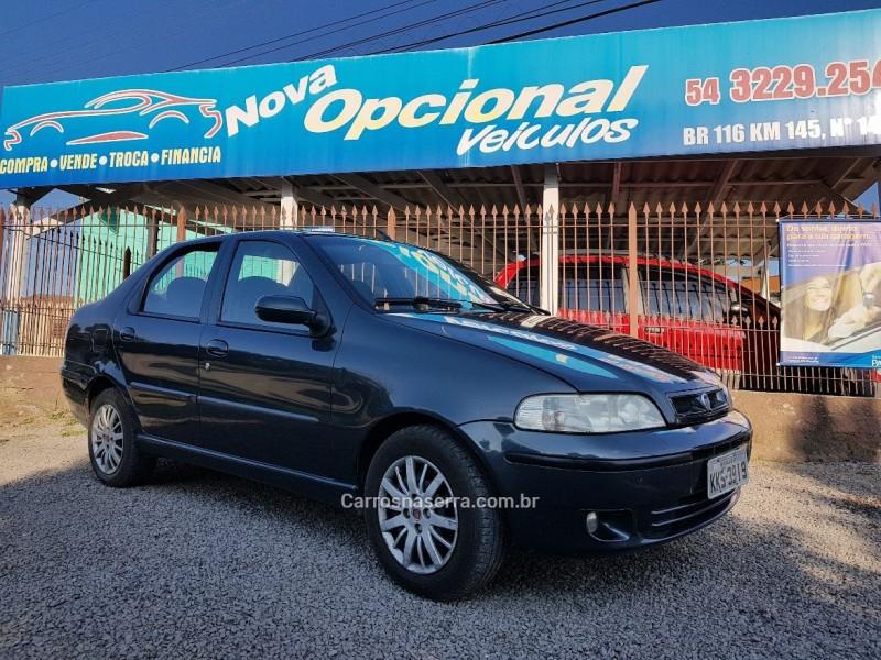 siena 1.0 mpi elx 8v gasolina 4p manual 2003 caxias do sul