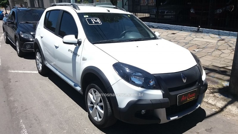 sandero 1.6 stepway 8v flex 4p manual 2014 caxias do sul