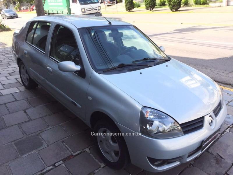 clio 1.0 privilege sedan 16v gasolina 4p manual 2008 caxias do sul