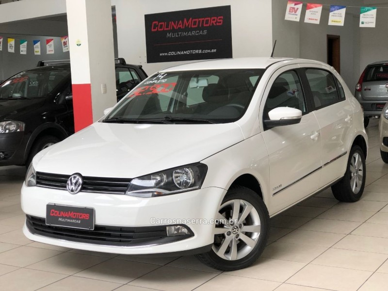 gol 1.6 mi highline 8v flex 4p manual 2014 caxias do sul