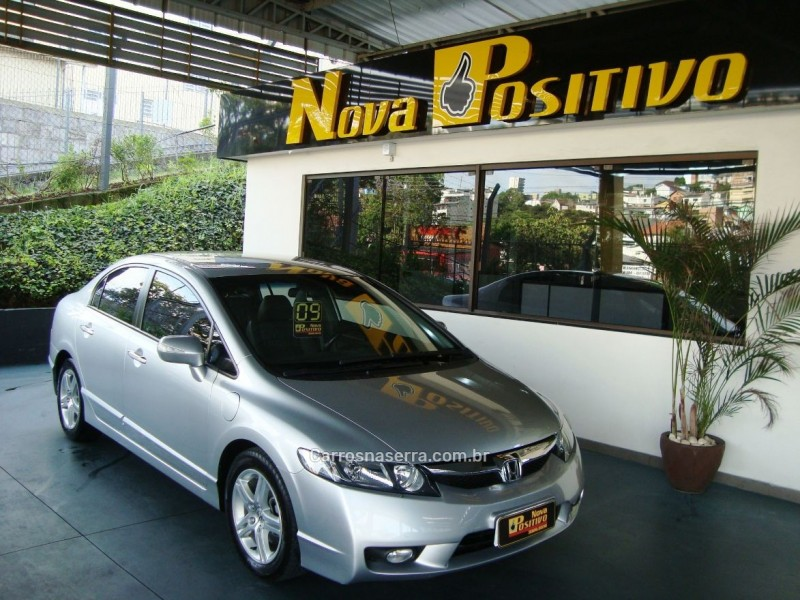 civic 1.8 exs 16v gasolina 4p automatico 2009 caxias do sul