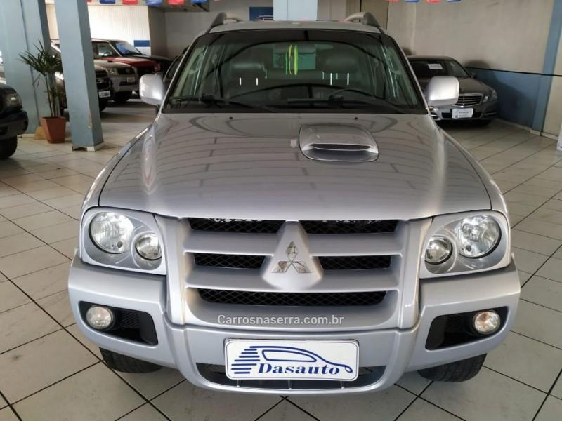 pajero sport 2.5 hpe 4x4 8v turbo intercooler diesel 4p automatico 2010 caxias do sul