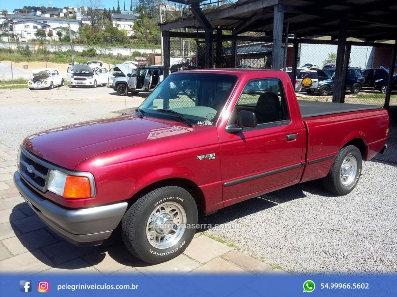 ranger 4.0 xl 4x2 cs v6 12v gasolina 2p manual 1997 bento goncalves