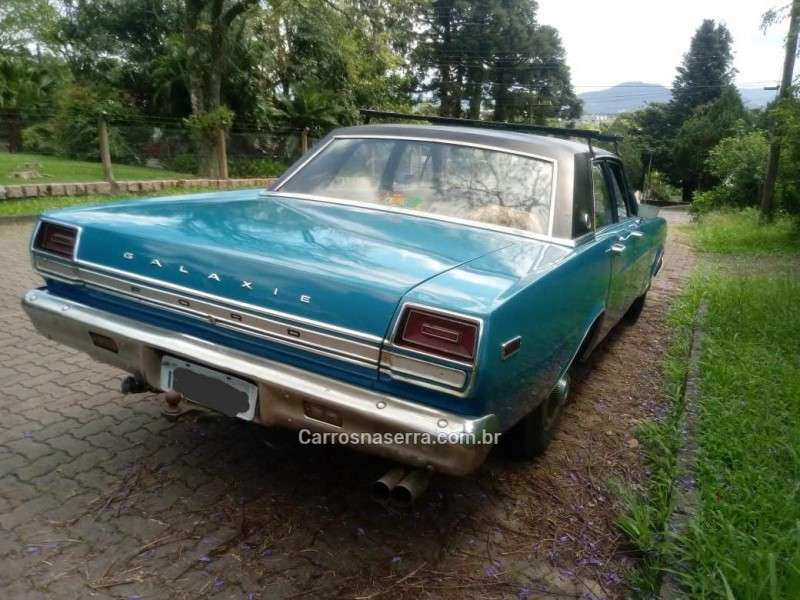 GALAXIE 4.8 LTD V8 16V GASOLINA 4P MANUAL - 1970 - PICADA CAFé