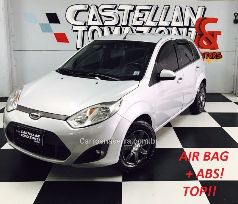 fiesta 1.6 mpi 8v gasolina 4p manual 2012 caxias do sul