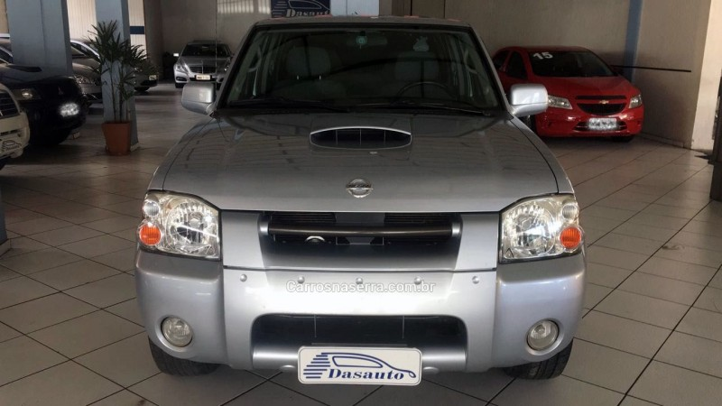 frontier 2.5 se 4x2 cd turbo eletronic diesel 4p manual 2005 caxias do sul