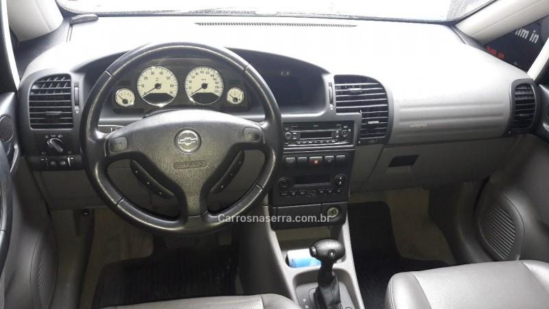 ZAFIRA 2.0 MPFI ELITE 16V GASOLINA 4P AUTOMÁTICO - 2009 - CAXIAS DO SUL