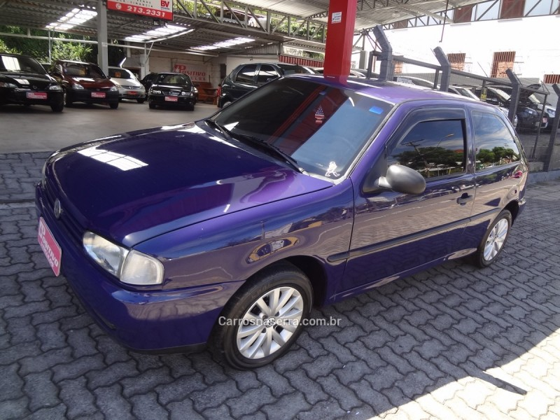 gol 1.6 cli 8v gasolina 2p manual 1997 caxias do sul