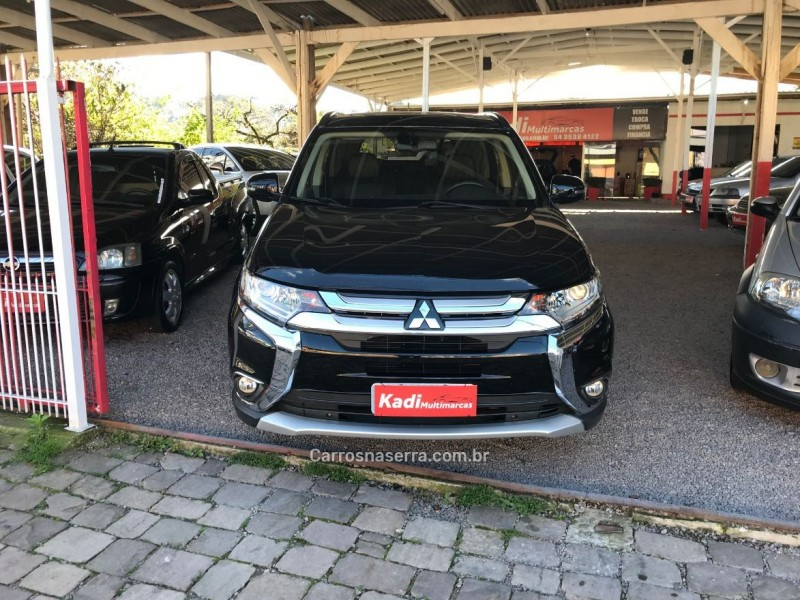 outlander 2.0 16v gasolina 4p automatico 2016 caxias do sul