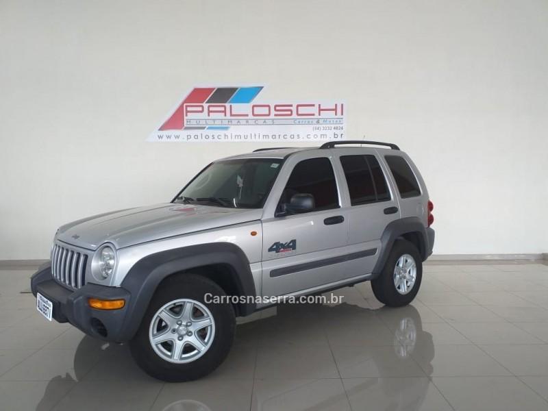 cherokee 3.7 sport 4x4 v6 12v gasolina 4p automatico 2004 vacaria