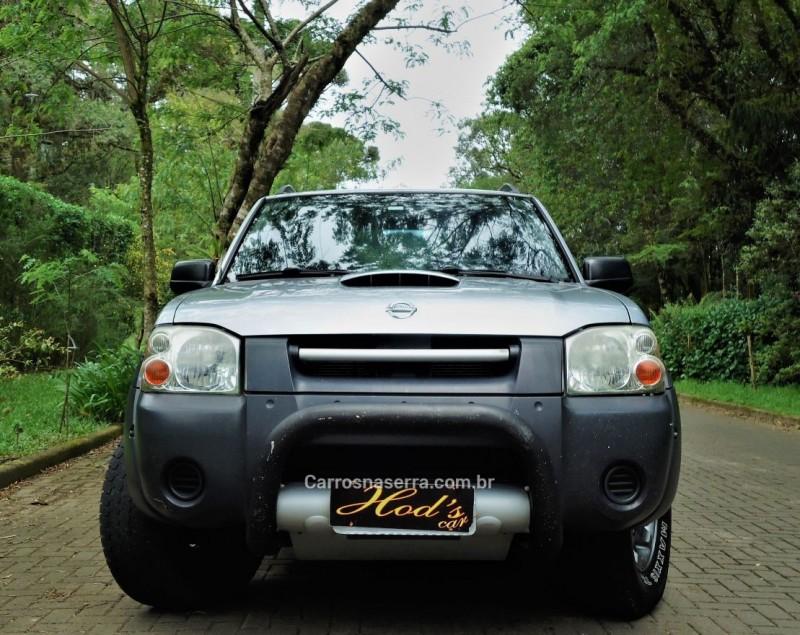 frontier 2.8 xe 4x2 cd turbo eletronic diesel 4p manual 2007 canela
