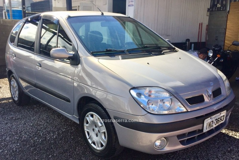 scenic 1.6 privilege 16v gasolina 4p manual 2008 caxias do sul