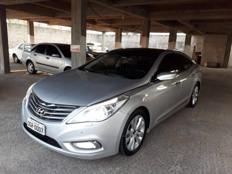 azera 3.0 mpfi gls v6 24v gasolina 4p automatico 2013 nova prata