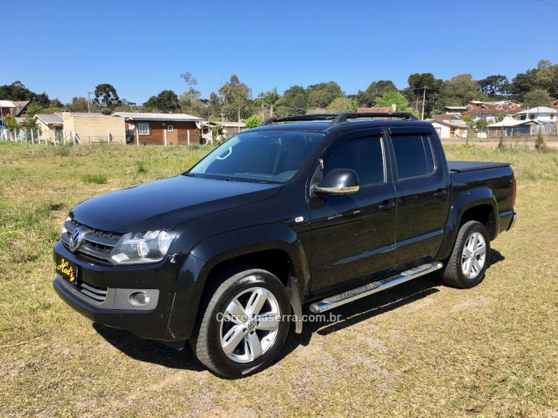 amarok 2.0 highline 4x4 cd 16v turbo intercooler diesel 4p automatico 2014 canela