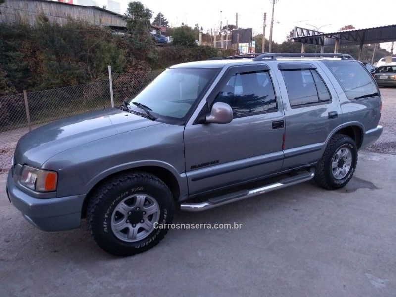 blazer 2.2 efi dlx 4x2 8v gasolina 4p manual 1997 caxias do sul