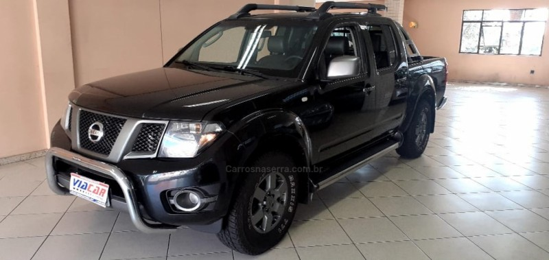 frontier 2.5 sv attack 4x4 cd turbo eletronic diesel 4p manual 2015 bento goncalves
