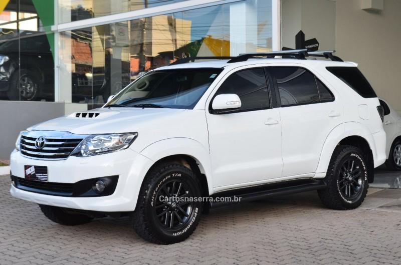 hilux sw4 3.0 srv 4x4 16v turbo intercooler diesel 4p automatico 2012 caxias do sul