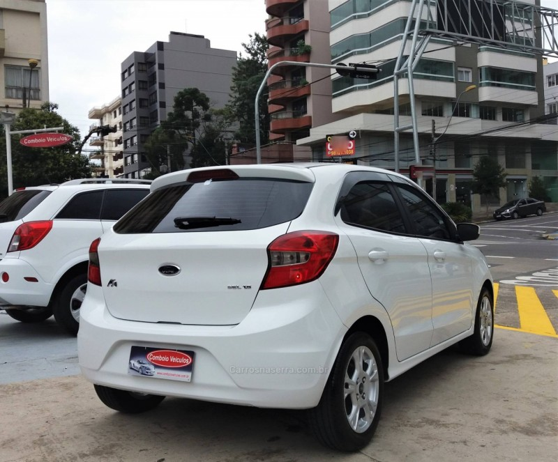 KA 1.5 SEL 16V FLEX 4P MANUAL - 2018 - CAXIAS DO SUL