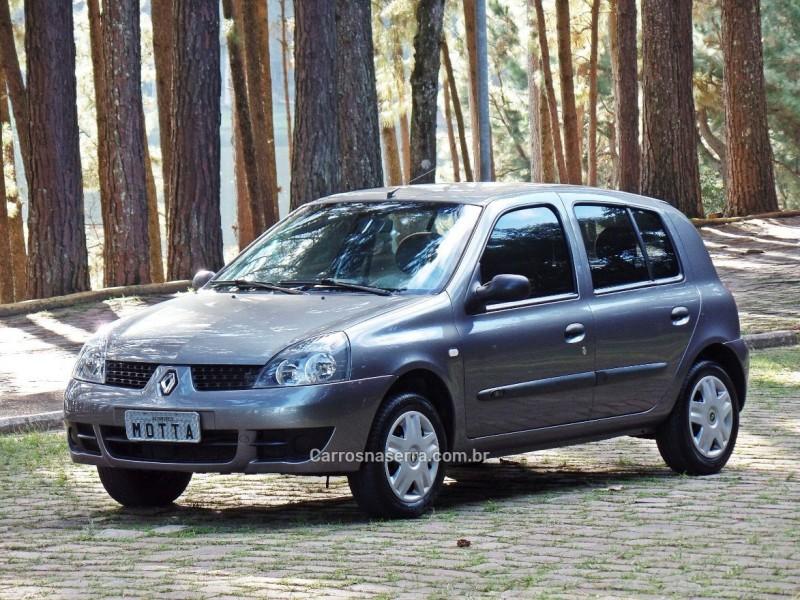 CLIO 1.0 AUTHENTIQUE 16V HI-FLEX 4P MANUAL - 2006 - CAXIAS DO SUL