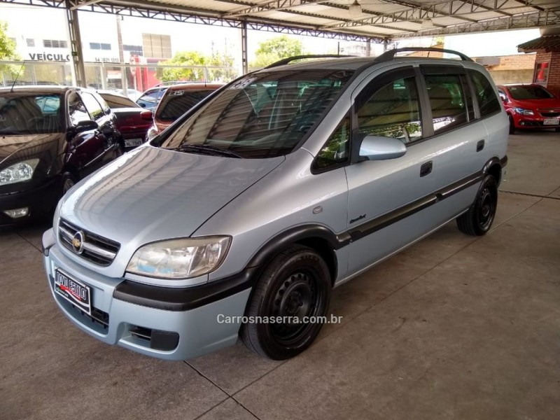 zafira 2.0 mpfi comfort 8v flex 4p manual 2008 caxias do sul