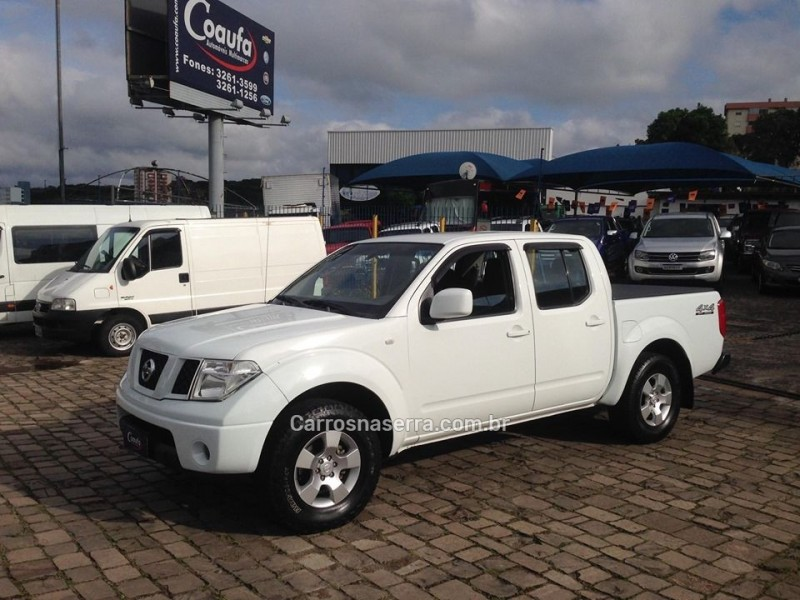 frontier 2.5 xe 4x4 cd turbo eletronic diesel 4p manual 2010 farroupilha