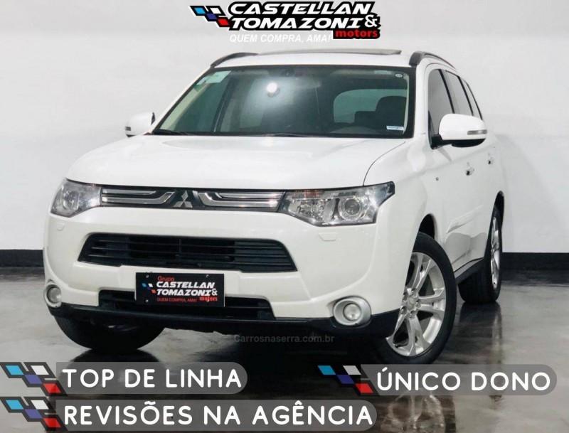 outlander 3.0 gt 4x4 v6 24v gasolina 4p automatico 2015 caxias do sul
