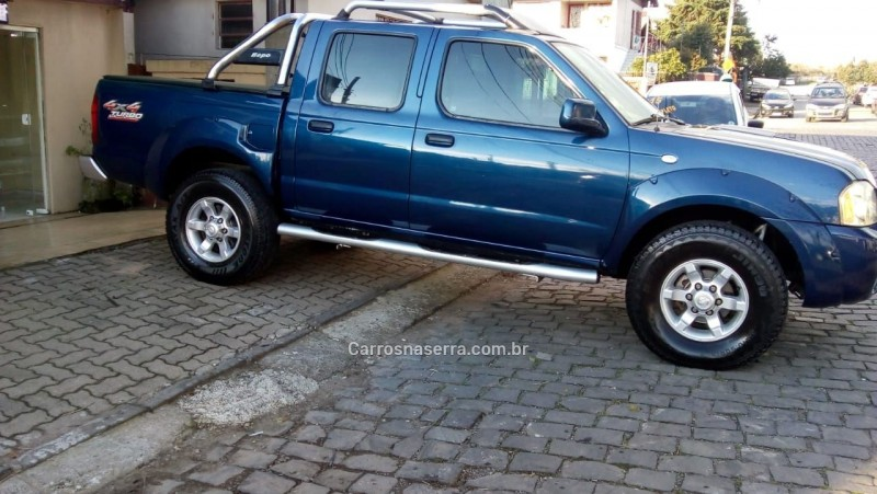 frontier 2.8 se 4x4 cd turbo eletronic diesel 4p manual 2004 caxias do sul